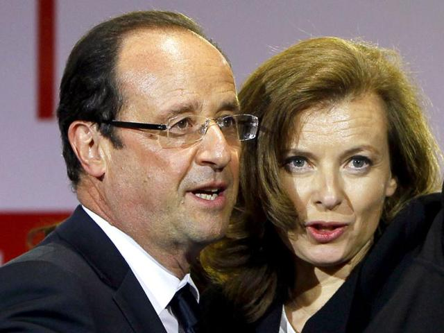 Francois Hollande,Valerie Trierweiler,Action Against Hunger