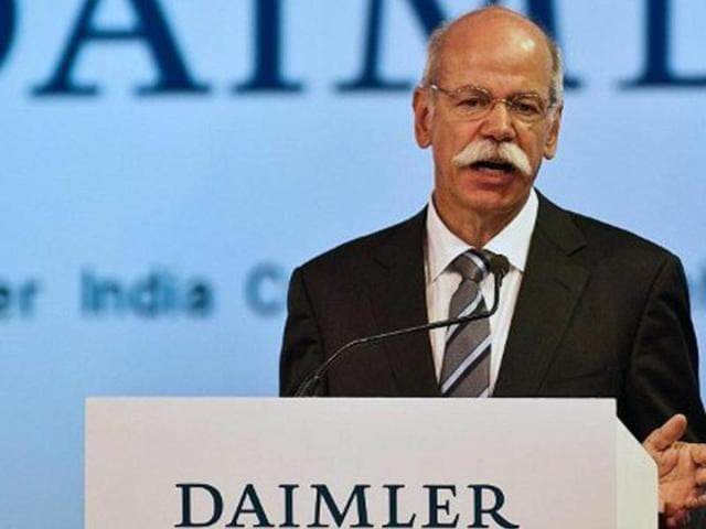 File-photo-of-Daimler-AG-chairman-and-head-of-Mercedes-Benz-cars-Dieter-Zetsche-during-the-inauguration-of-the-Daimler-India-Commercial-Vehicles-DCIV-Plant-at-Oragadam-in-Chennai-on-April-18-2012-AFP-Photo-Manan-Vatsyayana