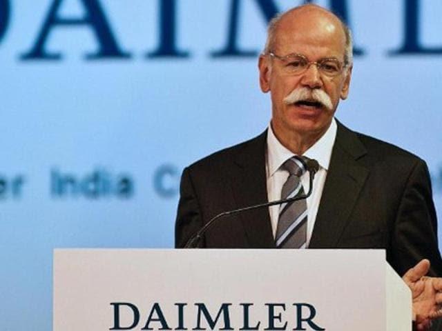 Dieter Zetsche,Daimler,BharatBenz