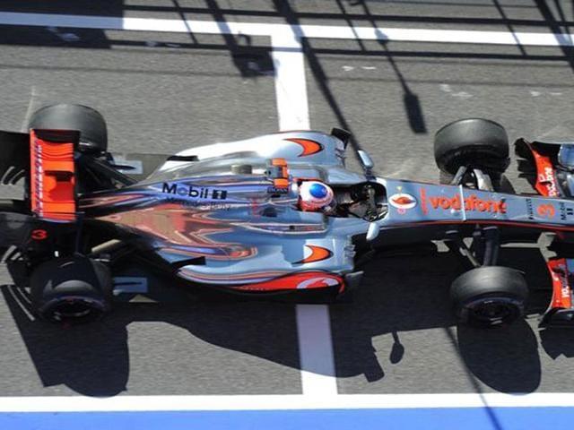 Barcelona,McLaren,Jenson Button