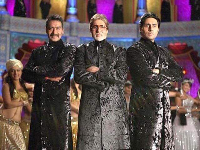 Amitabh Bachchan,Abhishek,Ajay Devgn