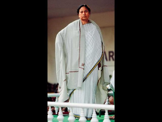West-Bengal-chief-minister-Mamata-Banerjee-has-had-an-eventful-year-with-Time-magazine-counting-her-among-the-world-s-100-most-powerful-people-Back-home-though-she-is-yet-to-prove-herself-the-agent-of-change-she-purported-herself-to-be-HT-Subhankar-Chakraborty