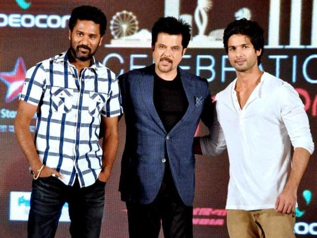 Shahid-Kapoor-Anil-Kapoor-and-Prabhu-Deva-at-the-press-conference