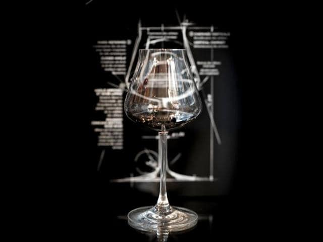 A-photo-of-a-tulip-shaped-glass-which-prevents-the-alcohol-from-overpowering-the-aroma-of-wine-when-the-glass-is-swirled