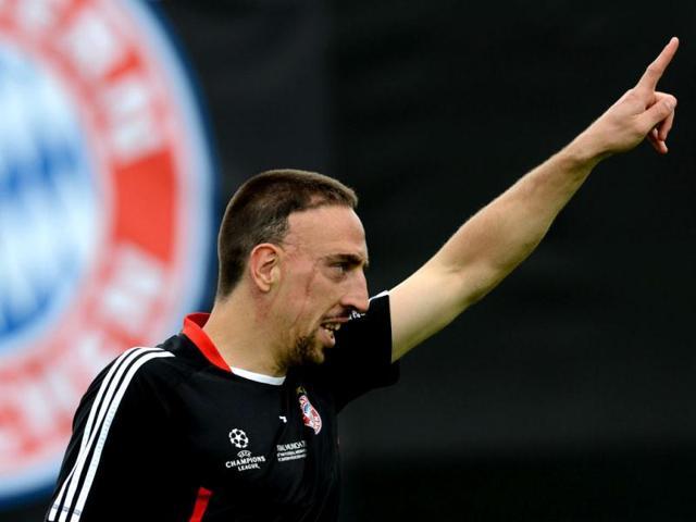 Franck Ribery,Bayern Munich,Champions League
