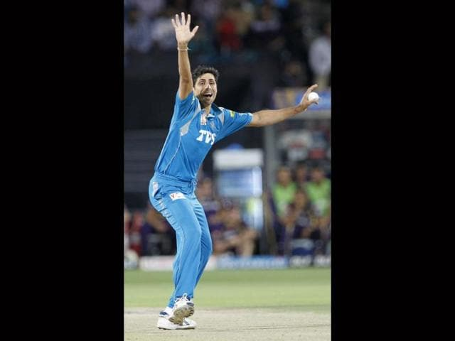 Ashish Nehra,Kolkata Knight Riders,Champions League T20