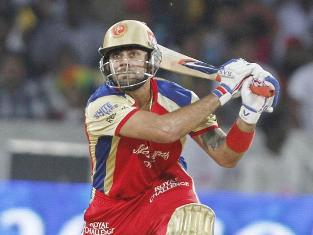 Dale-Steyn-of-Deccan-Chargers-after-Chris-Gayle-s-wicket-during-5th-edition-of-IPL-against-Royal-Challengers-Bangalore-at-Rajiv-Gandhi-International-Stadium-Uppal-HT-Photo-Ashok-Nath-Dey