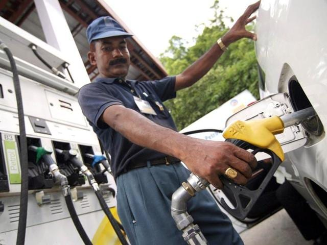Oil companies on Tuesday announced a cut in petrol prices by Rs 2.42 per litre and diesel by Rs 2.25 a litre. (AFP File Photo)