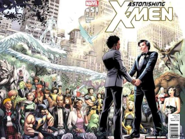 For sale! X-Men gay marriage proposal poster
