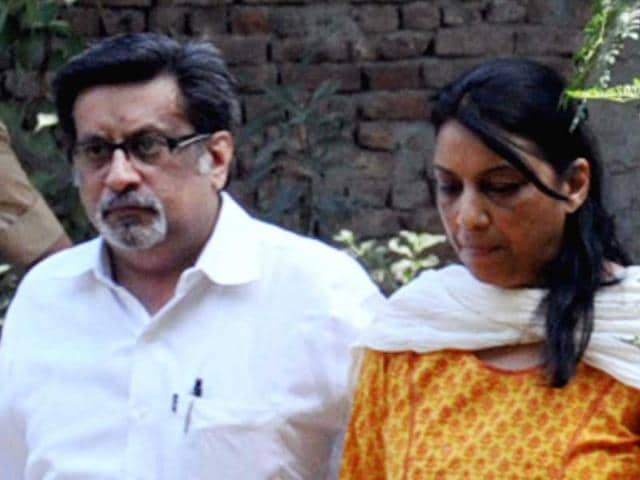 Rajesh-Talwar-and-his-wife-Nupur-Talwar-leave-for-the-Ghaziabad-court-HT-Sakib-Ali
