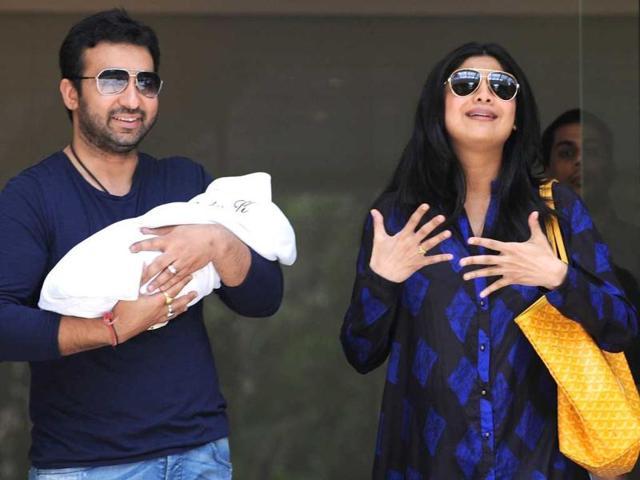 Shilpa Shetty,Raj Kundra,Viaan