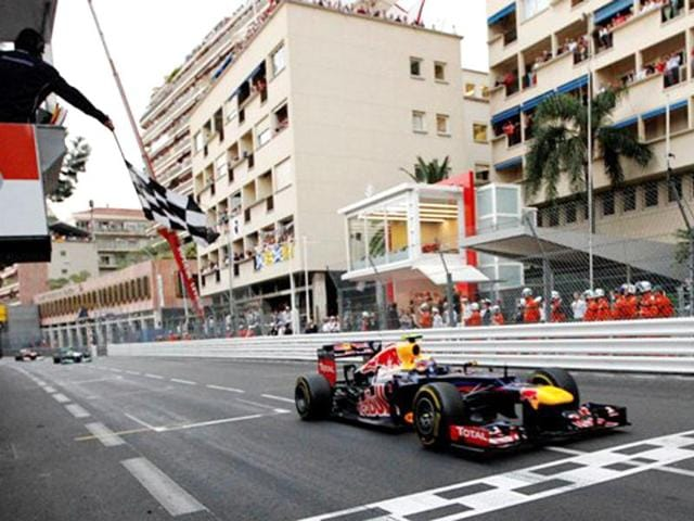 Mark-Webber-s-win-at-the-Monaco-GP-sees-him-move-to-joint-second-position-in-the-drivers-championship-with-Sebastian-Vettel-AP-Photo