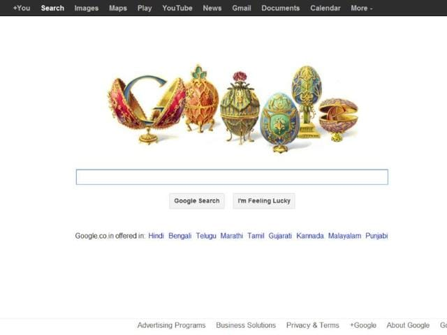 Google-has-decked-up-its-logo-in-bejeweled-Easter-eggs-to-celebrate-the-166th-birthday-of-Peter-Carl-Faberge