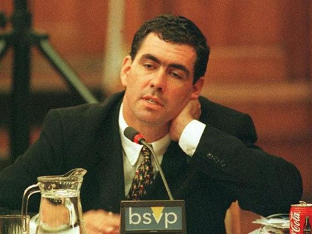 File-photo-Former-South-African-cricket-captain-Hansie-Cronje-appears-to-tire-during-his-cross-examination-at-the-King-Commission-of-Inquiry-into-allegations-of-cricket-match-fixing-in-Cape-Town-22-June-2000-AFP
