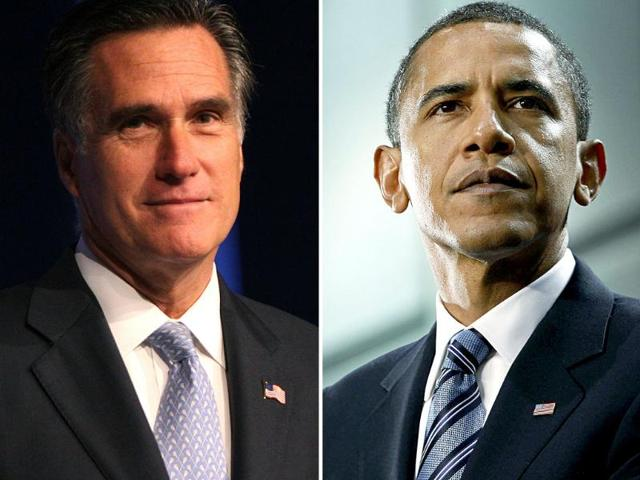 US-presidential-campaign-heats-up-between-President-Barack-Obama-and-his-Republican-rival-Mitt-Romney