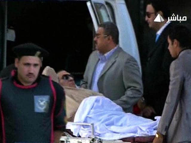 Hosni Mubarak,stroke,life support