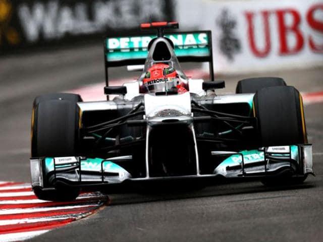 Mercedes,Canadian GP,Michael Schumacher