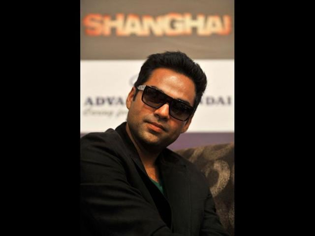 Bollywood-actor-Abhay-Deol-looks-on-during-a-promotional-press-conference-held-for-his-upcoming-movie-Shanghai-in-Bangalore-AFP