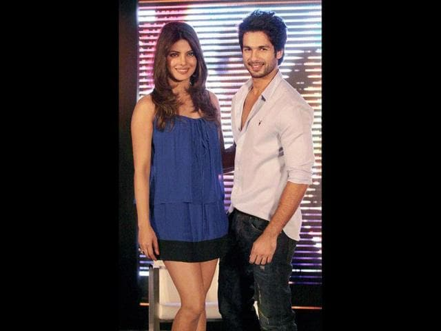 Priyanka-Chopra-and-Shahid-Kapoor-were-recently-seen-at-the-trailer-launch-of-their-upcoming-film-Teri-Meri-Kahaani-by-Kunal-Kohli-in-Mumbai-AFP-Photo