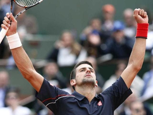 Serbia-s-Novak-Djokovic-reacts-after-winning-over-Italy-s-Andreas-Seppi-during-their-Men-s-Singles-4th-Round-tennis-match-of-the-French-Open-tennis-tournament-at-the-Roland-Garros-stadium-in-Paris-AFP-Patrick