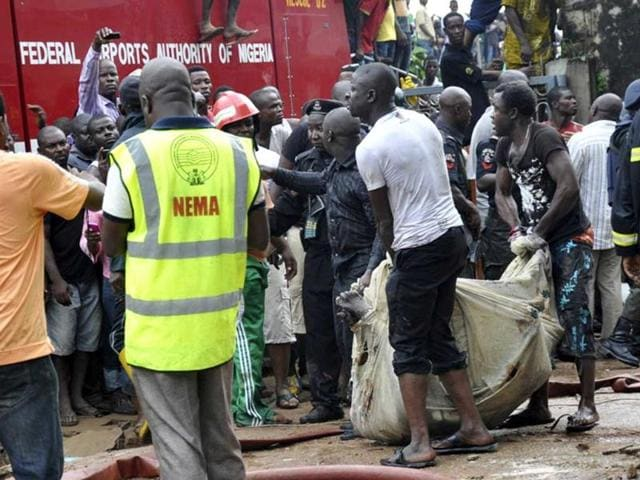 Nigeria suicide bomber