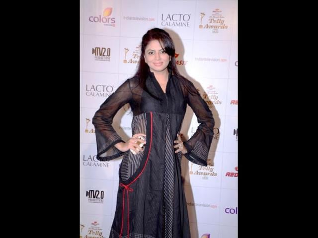 FIR-actor-Kavita-Kaushik-is-all-smiles-at-the-event