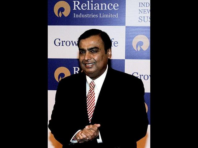 Mukesh Ambani,Reliance Industries Ltd,hindustan times