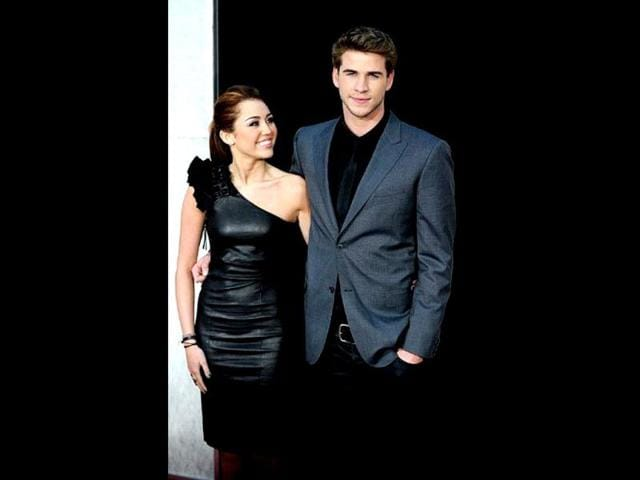 Miley-Cyrus-and-Liam-Hemsworth-at-the-premiere-of-The-Last-Song-the-film-during-which-they-first-met-AFP-Photo