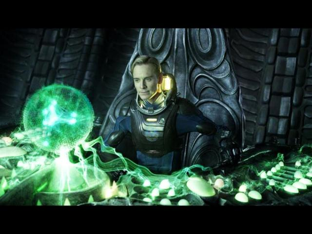 Prometheus is connected to Alien: Fassbender