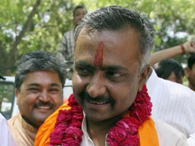 Modi shows who's boss, Gadkari forces Joshi out