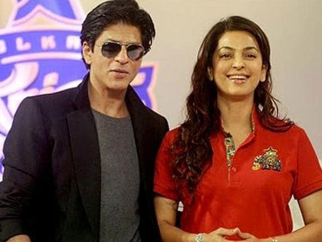 Their-friendship-might-have-seen-rough-patch-but-Shah-Rukh-Khan-and-Juhi-Chawla-s-friendship-is-still-intact-If-we-believe-Juhi-they-are-true-friends