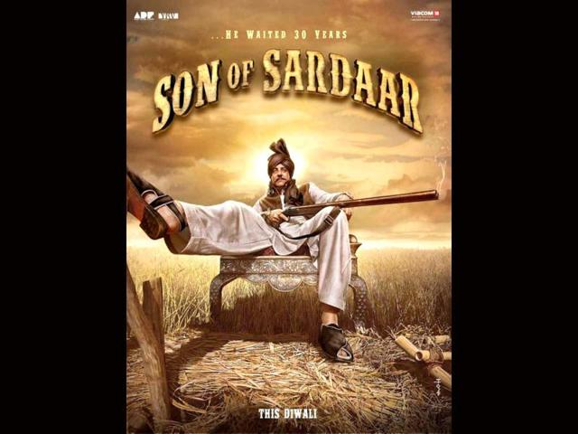 Son Of Sardaar also stars Juhi Chawla and Sanjay Dutt.
