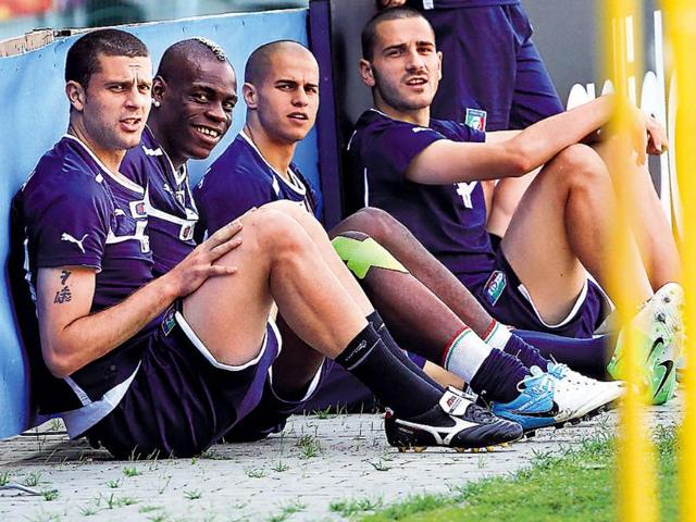 Italy-striker-Mario-Balotelli-second-from-left-is-likely-to-lose-his-place-in-the-starting-XI--Reuters