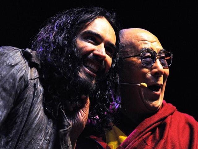Hindustan TImes,Russell Brand,Dalai lama