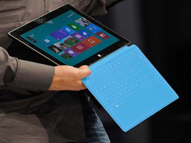 The-Microsoft-tablet-Surface-is-unveiled-during-a-news-conference-at-Milk-Studios-in-Los-Angeles-California-AFP