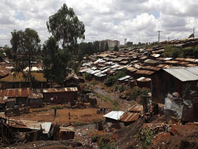Sanchita Sharma,Lord Delamere Terrace,Kibera