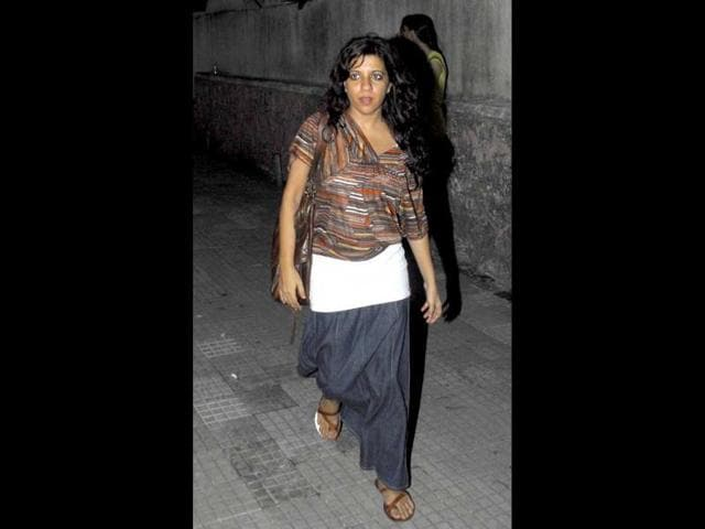 Director-Zoya-Akhtar-in-a-casual-look-arrives-for-the-screening