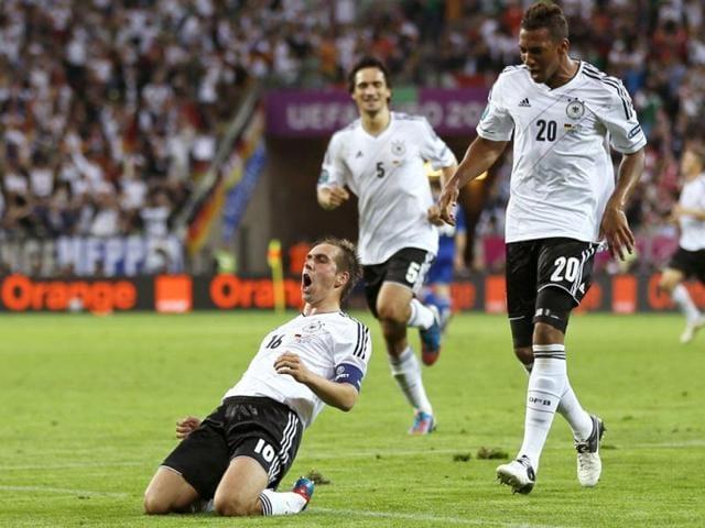 Germany captain,Philipp Lahm,Euro 2012 semifinal