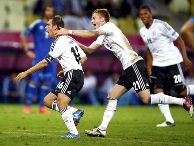 Germany-s-Philipp-Lahm-L-and-Marco-Reus-celebrate-after-Lahm-scored-a-goal-during-the-Euro-2012-quarter-final-soccer-match-against-Greece-at-the-PGE-Arena-in-Gdansk-Reuters-Kai-Pfaffenbach