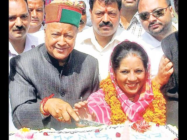 A-file-photo-of-Virbhadra-Singh-and-his-wife-Pratibha-A-special-court-in-Shimla-framed-charges-against-Singh-and-his-wife-in-the-corruption-case-filed-against-them-over-a-CD-PTI-photo