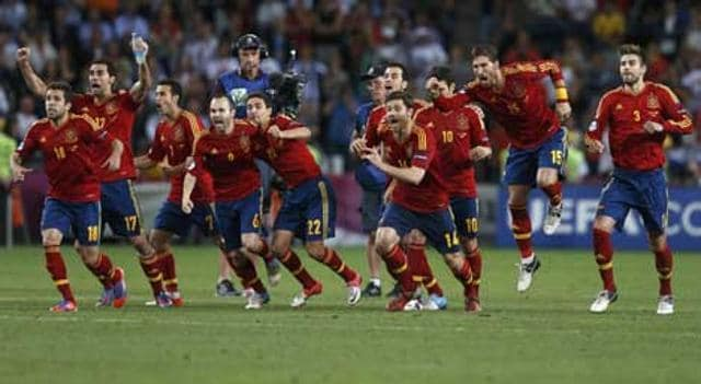 Spain-s-players-celebrate-after-defeating-Portugal-after-Euro-2012-semi-final-soccer-match-at-the-Donbass-Arena-in-Donetsk-Reuters