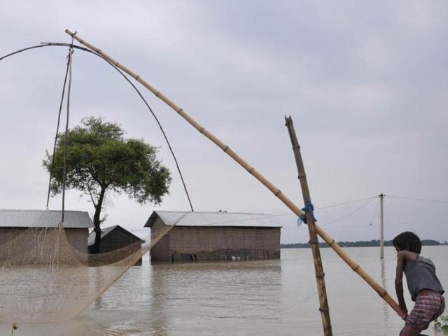 Sunkoshi River,artificial lake,Arniko Highway