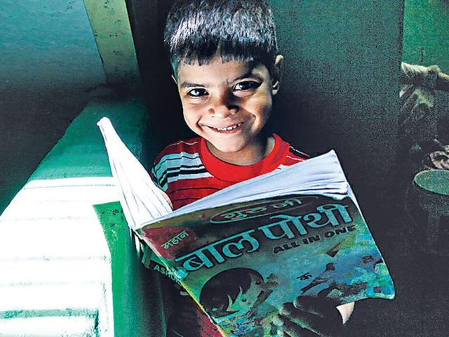 Rehan-will-join-school-in-July-thanks-to-HT-readers-He-is-looking-forward-to-learning-new-stories--HT-photo-Raj-K-Raj