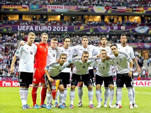 EUro2012,2014 World Cup in Brazil,German