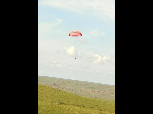 Chinese space capsule,Shenzhou 10,Inner Mongolia