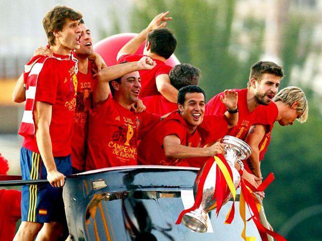 Euro 2012,Madrid,Plaza de Cibeles square