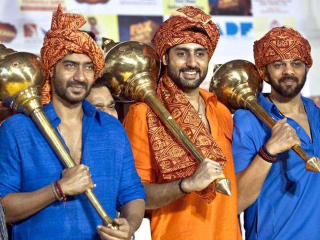 Abhishek Bachchan,Ajay Devgn,Bol Bachchan