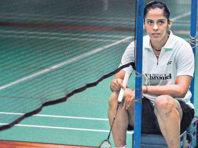 Insulated-from-the-pressure-of-expectations-ace-badminton-player-Saina-Nehwal-is-leaving-nothing-to-chance-HT-Santosh-Harhare
