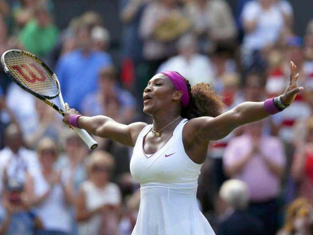 Serena-Williams-celebrates-after-defeating-Victoria-Azarenka-of-Belarus-in-their-women-s-semi-final-tennis-match-at-the-Wimbledon-tennis-championships-in-London-Reuters-Stefan-Wermuth