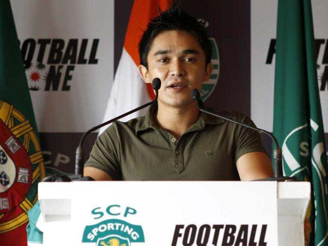 Football-captain-Sunil-Chhetri-as-a-new-player-of-Portuguese-football-club-Sporting-Lisbon-HT-Sanjeev-Verma